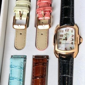 Invicta Special Edition Rose Gold Watch & Bands